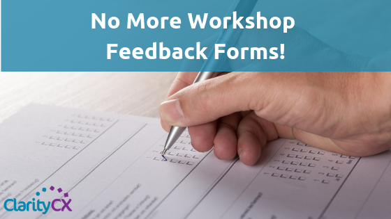 Workshop Feedback Forms