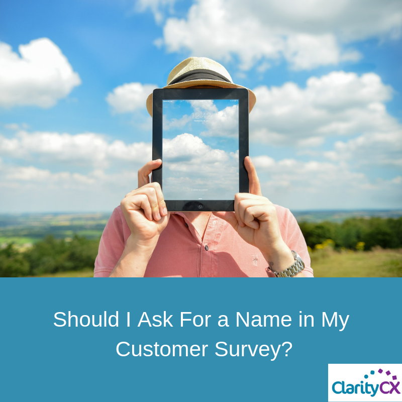 Name in Customer Survey